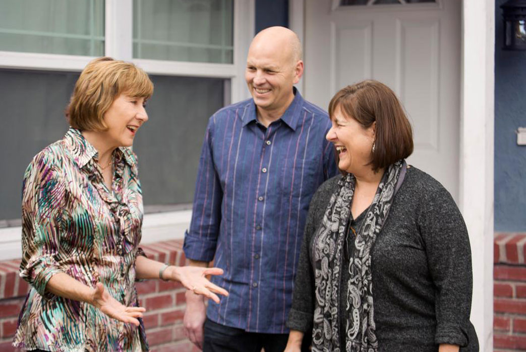 Paulette Chaffee meets with the public