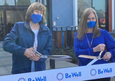 Ribbon cutting for Be Well Campus in Orange
