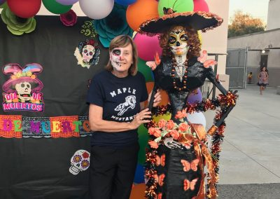 Day of the Dead Festival at Maple School in Fullerton