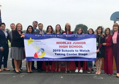 Nicolas Junior High Award